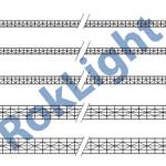 sistem modular luminatoare fatade