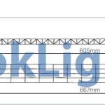 sistem policarbonat luminatoare 613