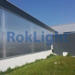 SNR proiect fatada din policarbonat