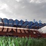 luminatoluminatoare stadionul ceahlaul